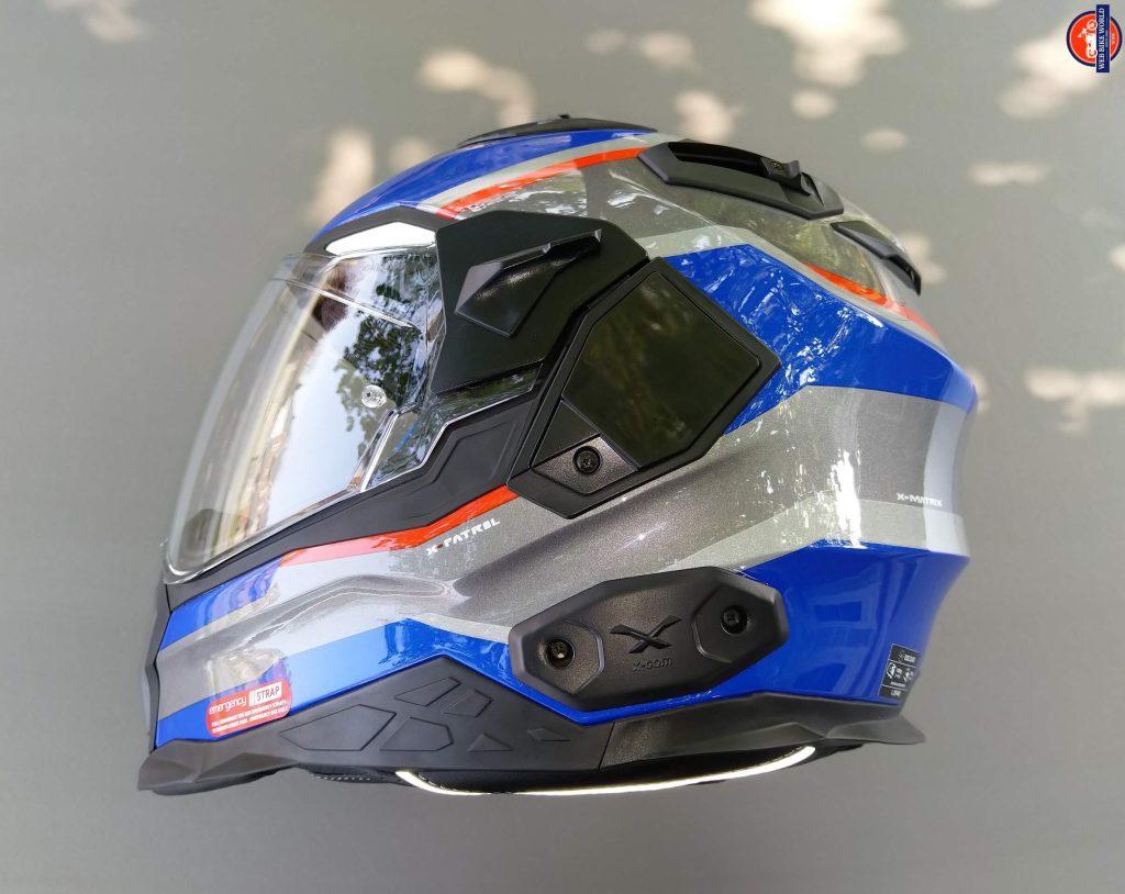 NEXX X.Wed2 X-Patrol Helmet X-COM left mounting point