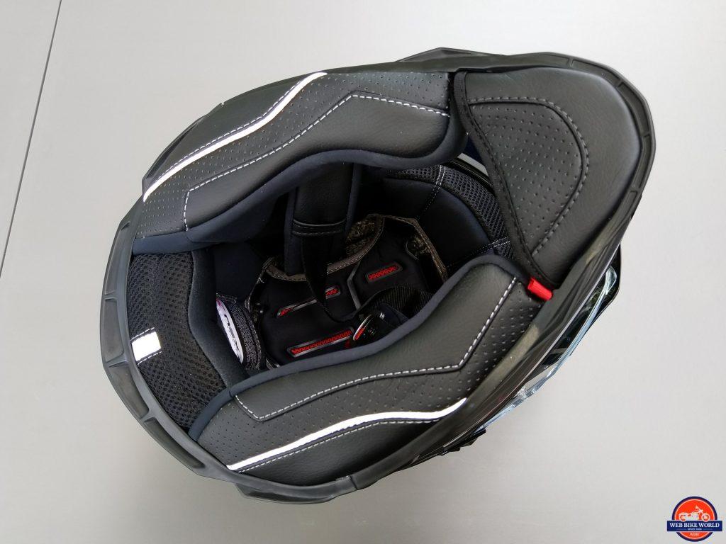 NEXX X.Wed2 X-Patrol Helmet interior