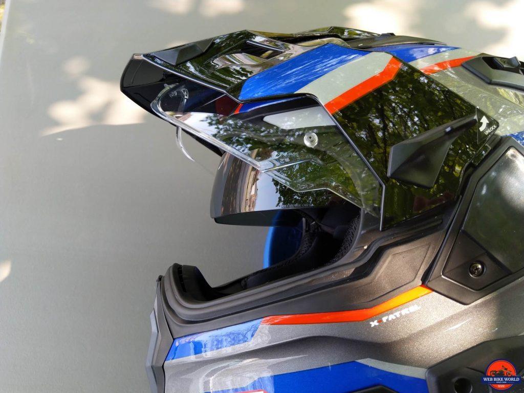 NEXX X.Wed2 X-Patrol Helmet sun visor
