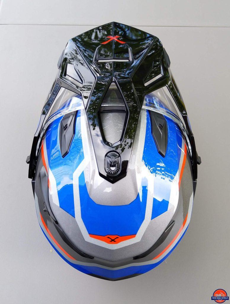 NEXX X.Wed2 X-Patrol Helmet top down view