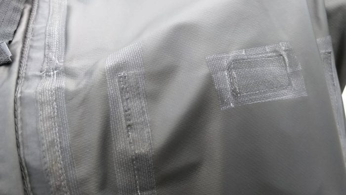 REV'IT! Offtrack Adventure Jacket moisture liner sealing details