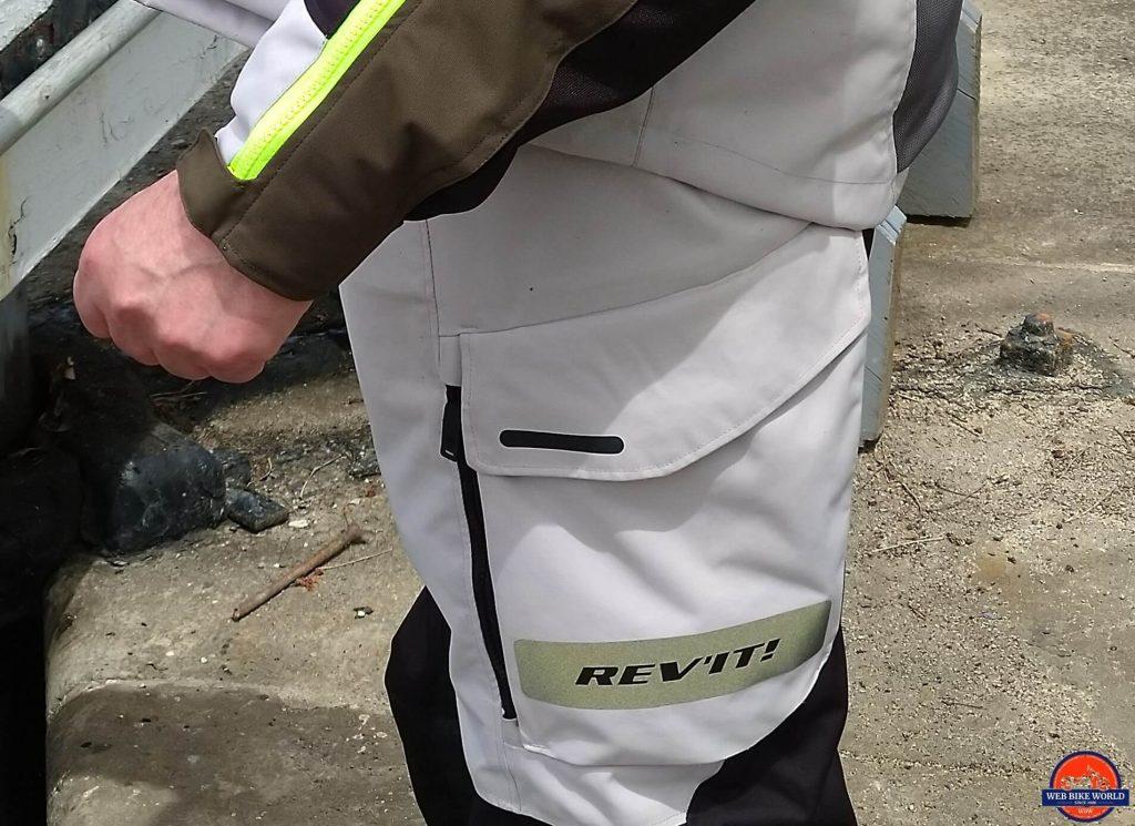 REV'IT! Offtrack Adventure Pants Thigh Pockets