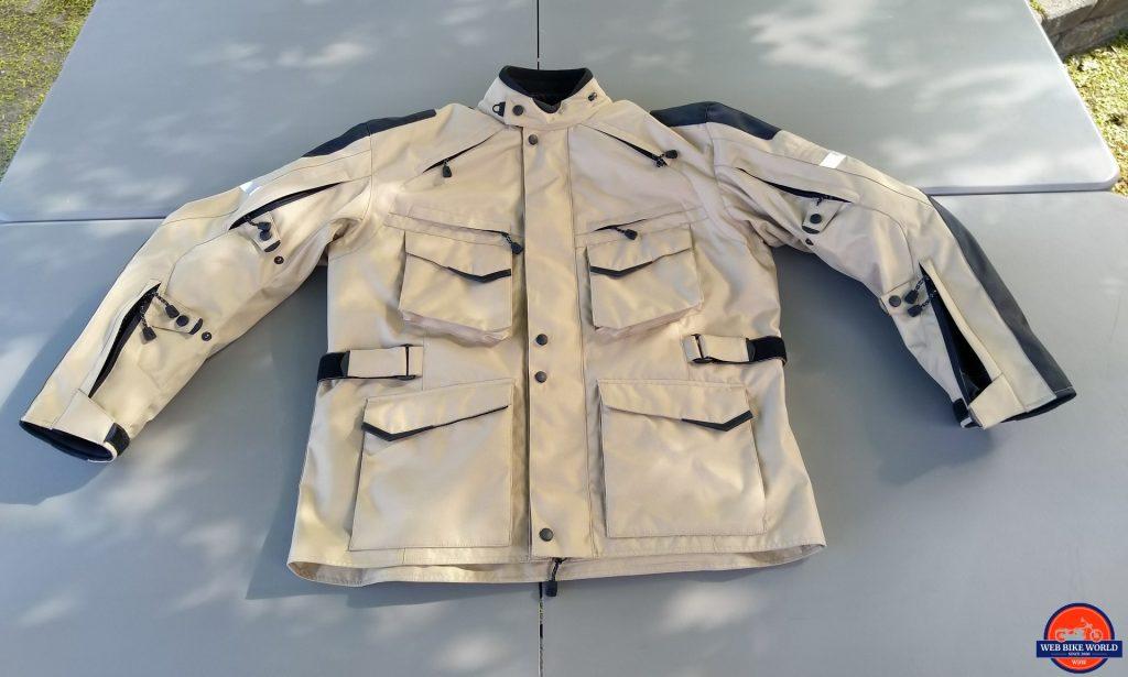Motonation Pursang Textile Adventure Jacket full view