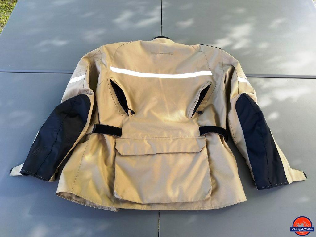 Motonation Pursang Textile Adventure Jacket rear view