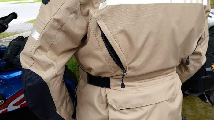Motonation Pursang Textile Adventure Jacket lateral exhaust vents