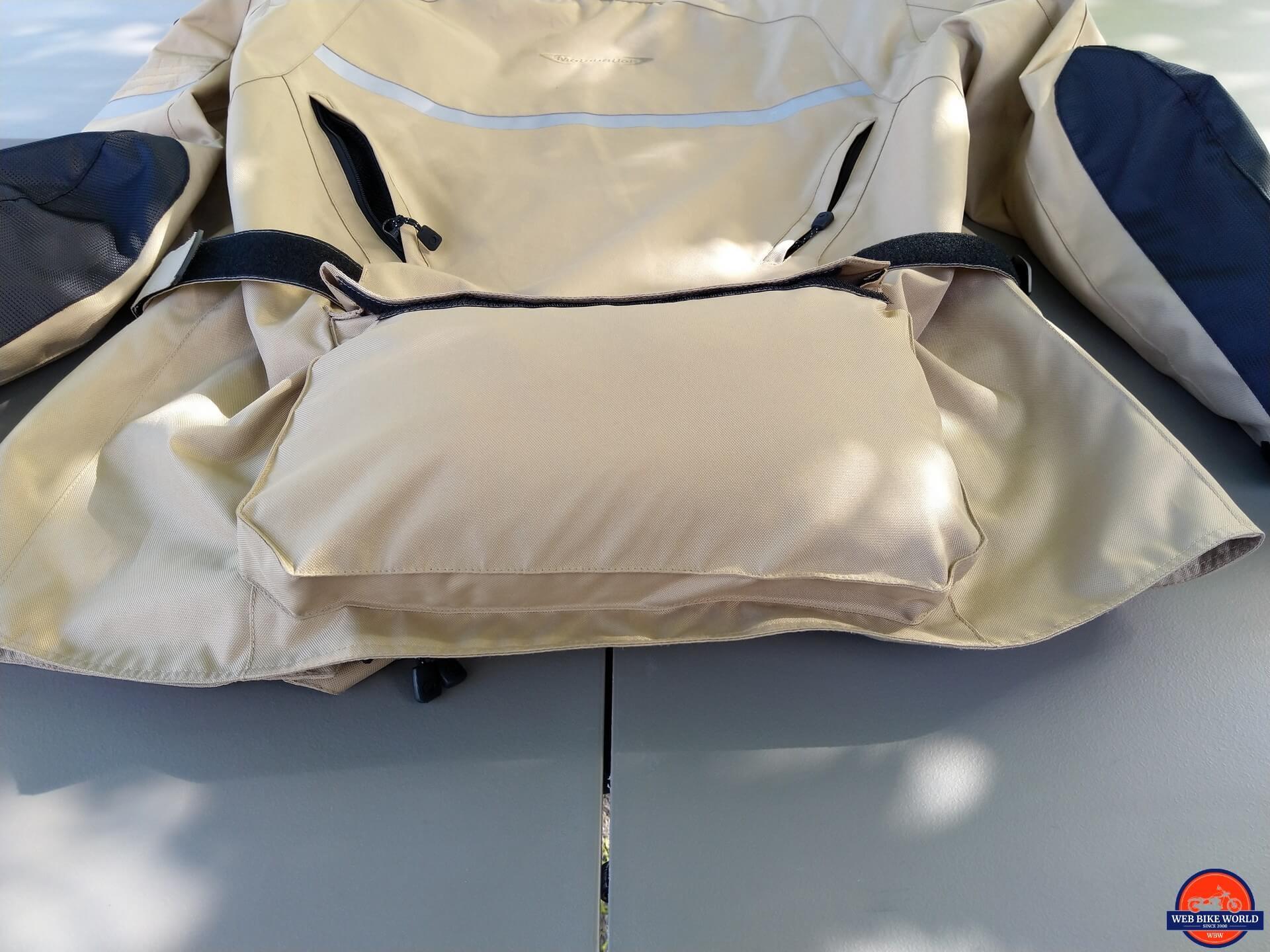 Motonation Pursang Textile Adventure Jacket filled cargo pocket