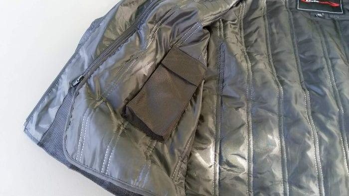 Motonation Pursang Textile Adventure Jacket thermal liner pocket for phone