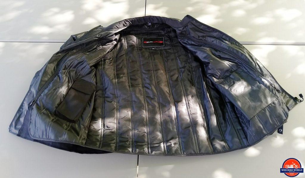 Motonation Pursang Textile Adventure Jacket thermal liner