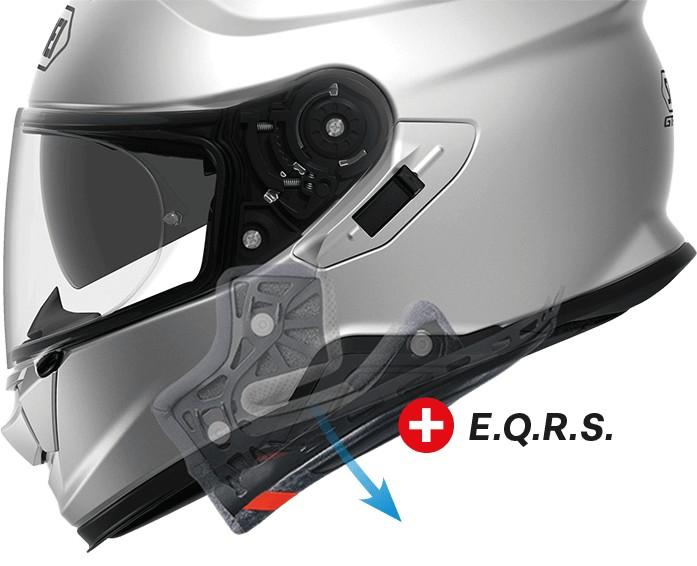 Shoei EQRS system.