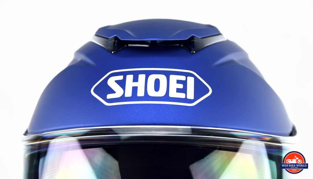 Top vent on Shoei GT Air II.