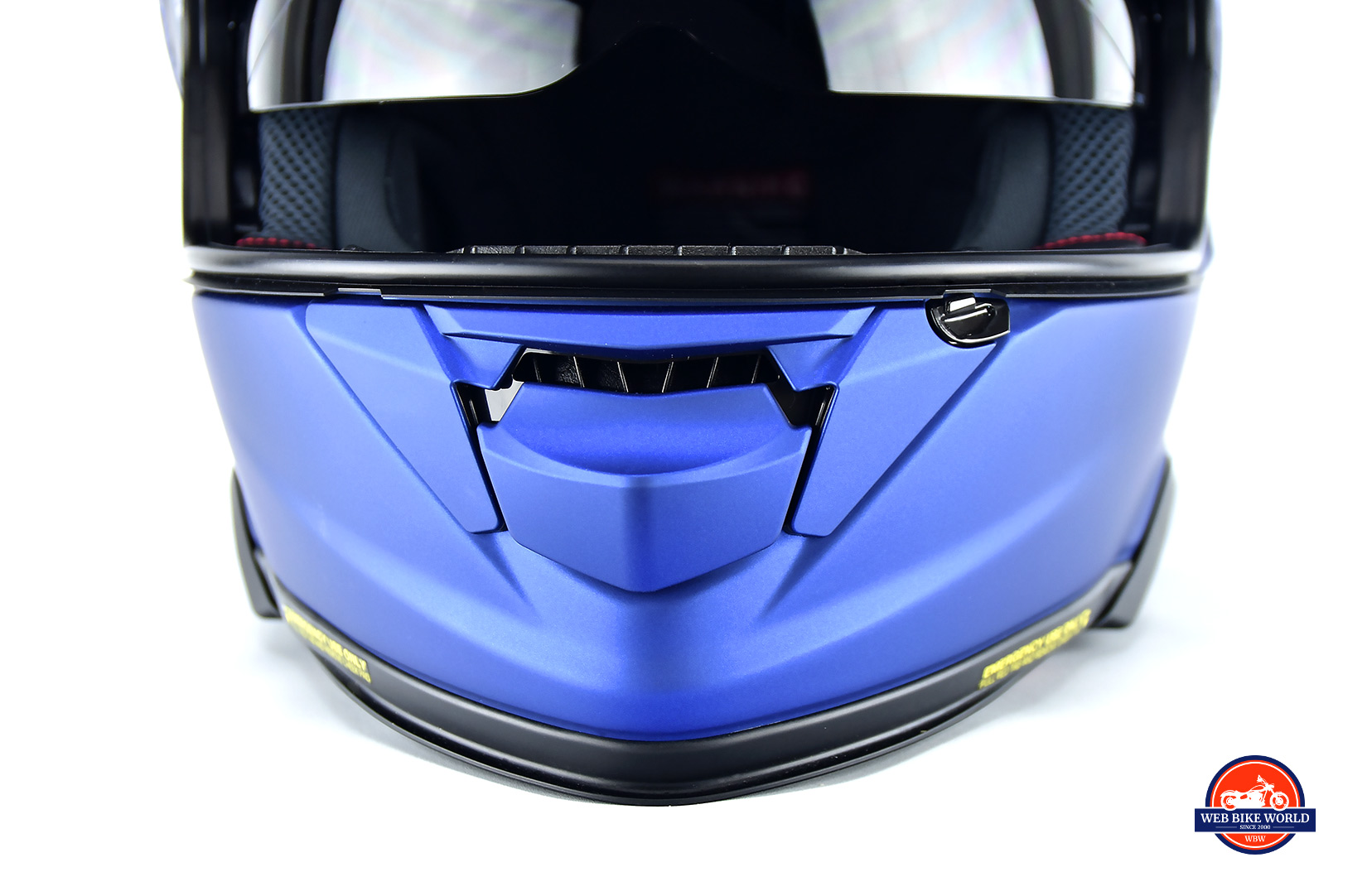 Shoei GT Air 2 vent open.