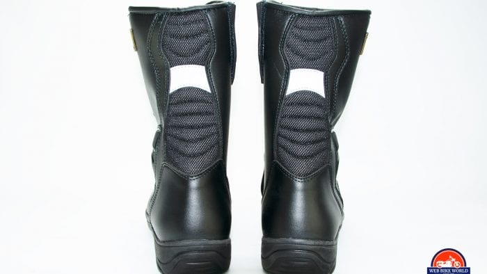 Sidi Gavia Gore-Tex Boots reflective strips.
