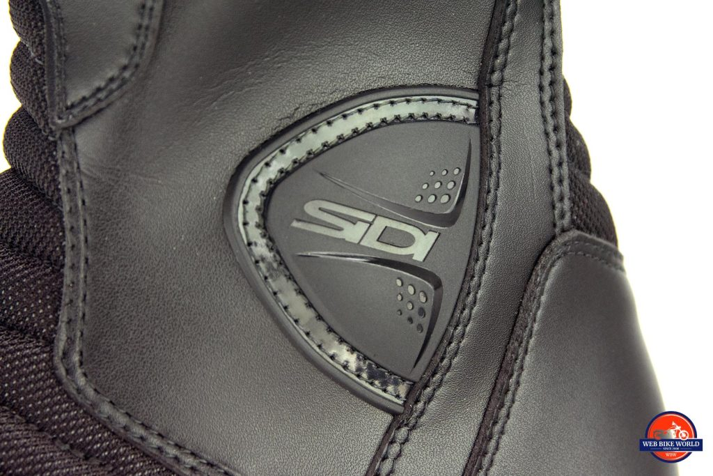 Sidi Gavia Gore-Tex ankle armor.