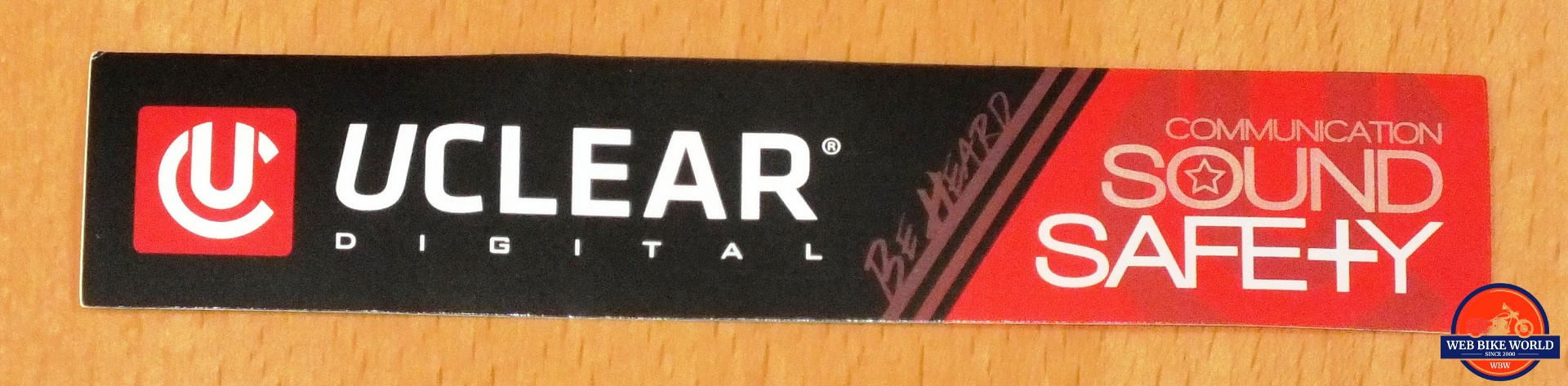 UClear Statement Sticker - Communication, Sound, & Safety