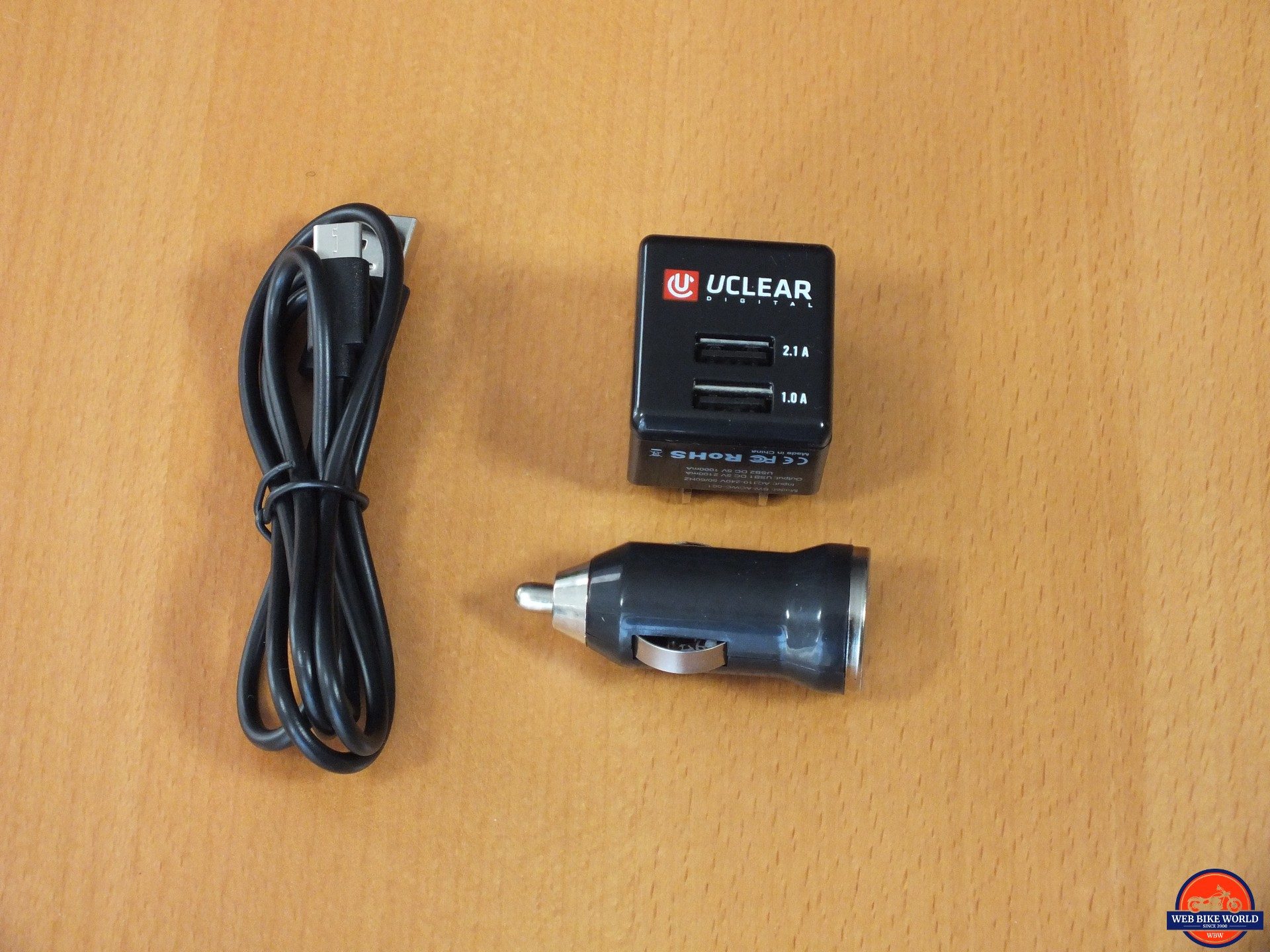 UClear Motion 6 charging components