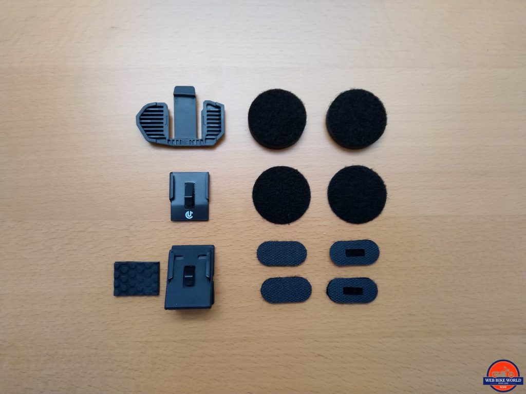 UClear Motion 6 helmet mounts and fitments