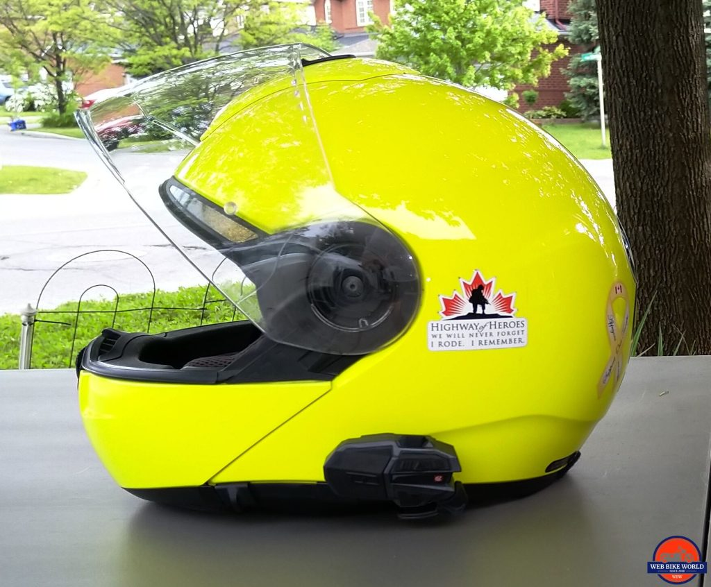 UClear Motion 6 on Schuberth C3