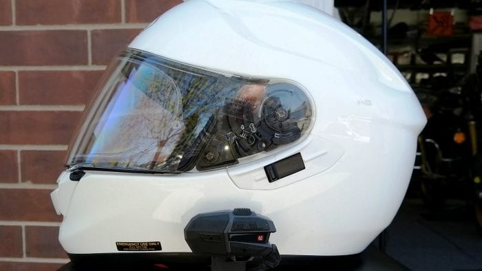 UClear Motion 6 on Shoei GT-Air