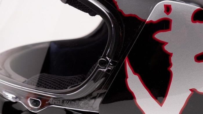 Arai Defiant-X Helmet pinlock visor