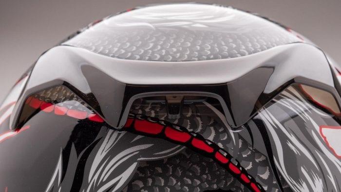Arai Defiant-X Helmet spoilers