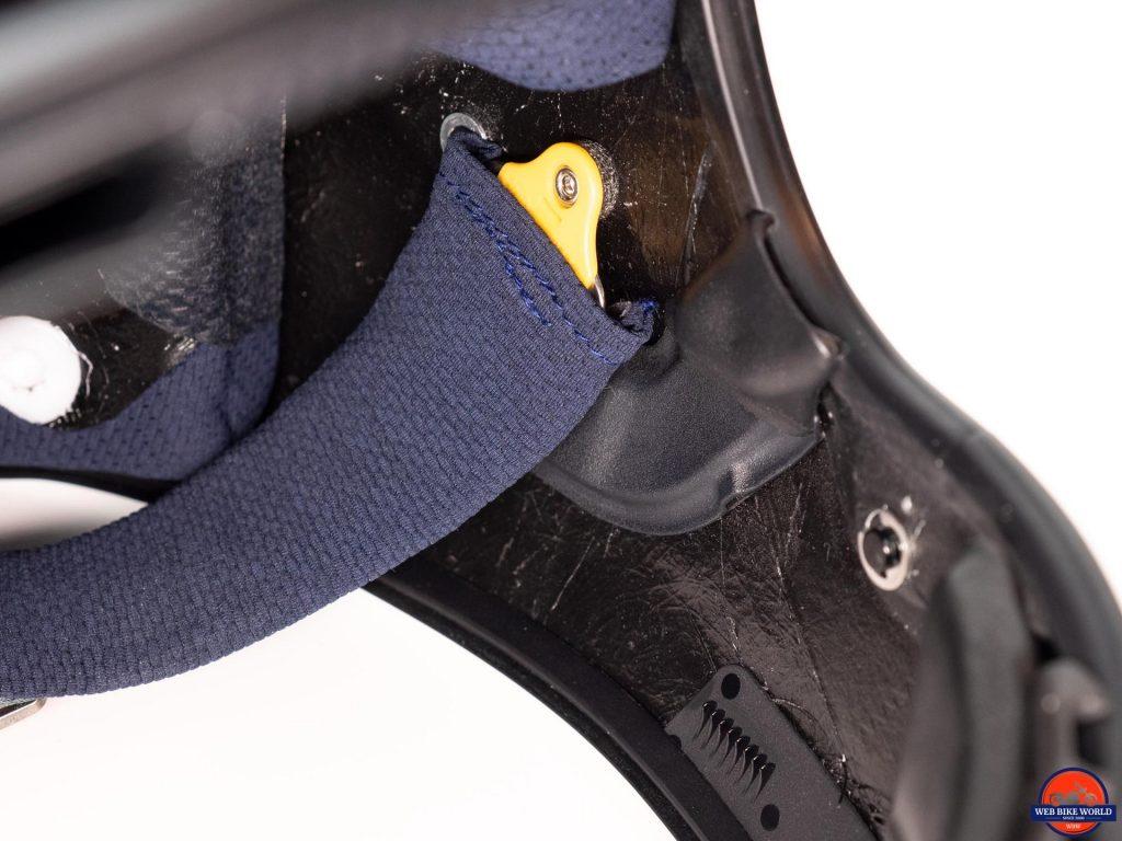 Arai Defiant-X Helmet duct exhaust vent