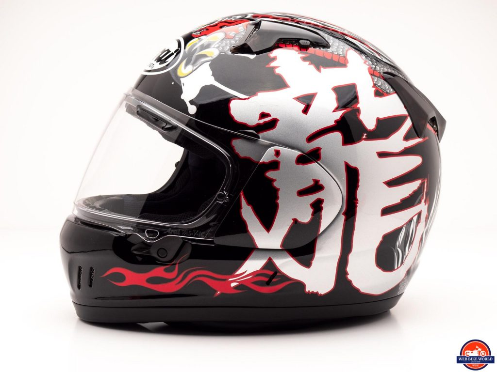 Arai Defiant-X Helmet side view