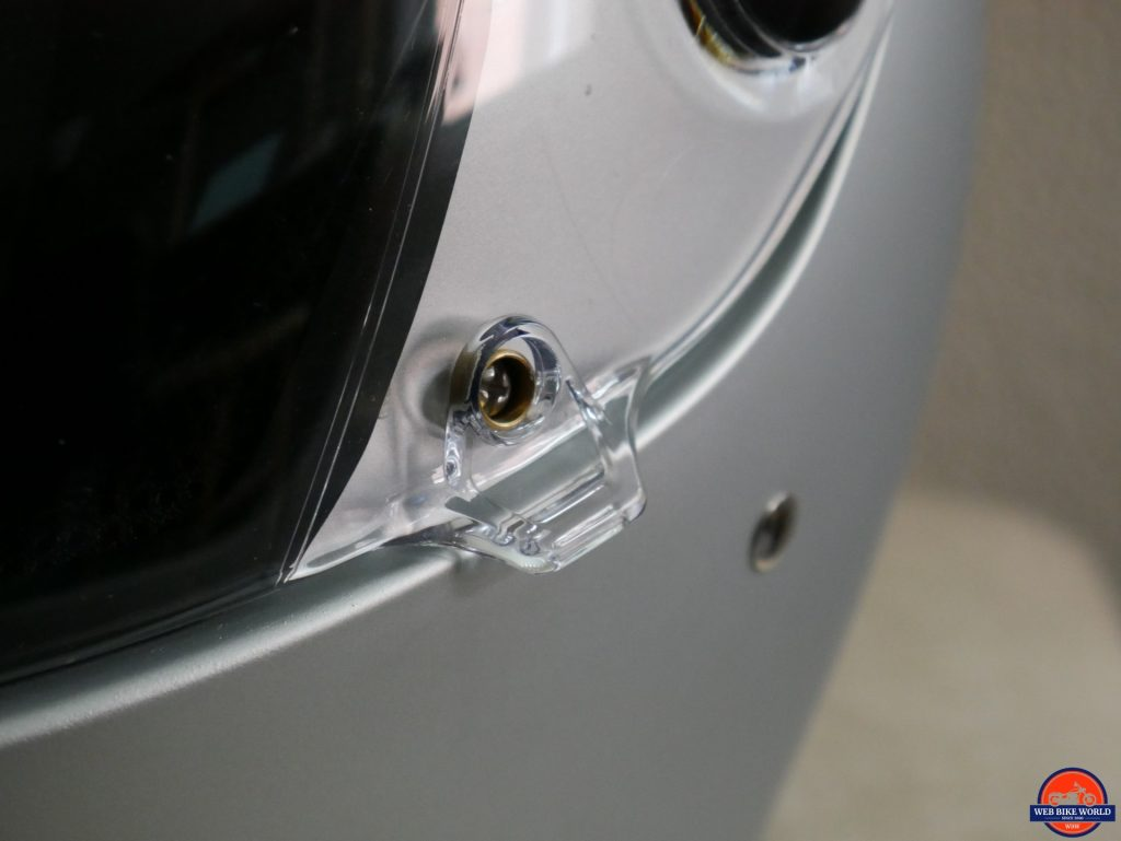 Biltwell Lane Splitter visor lock