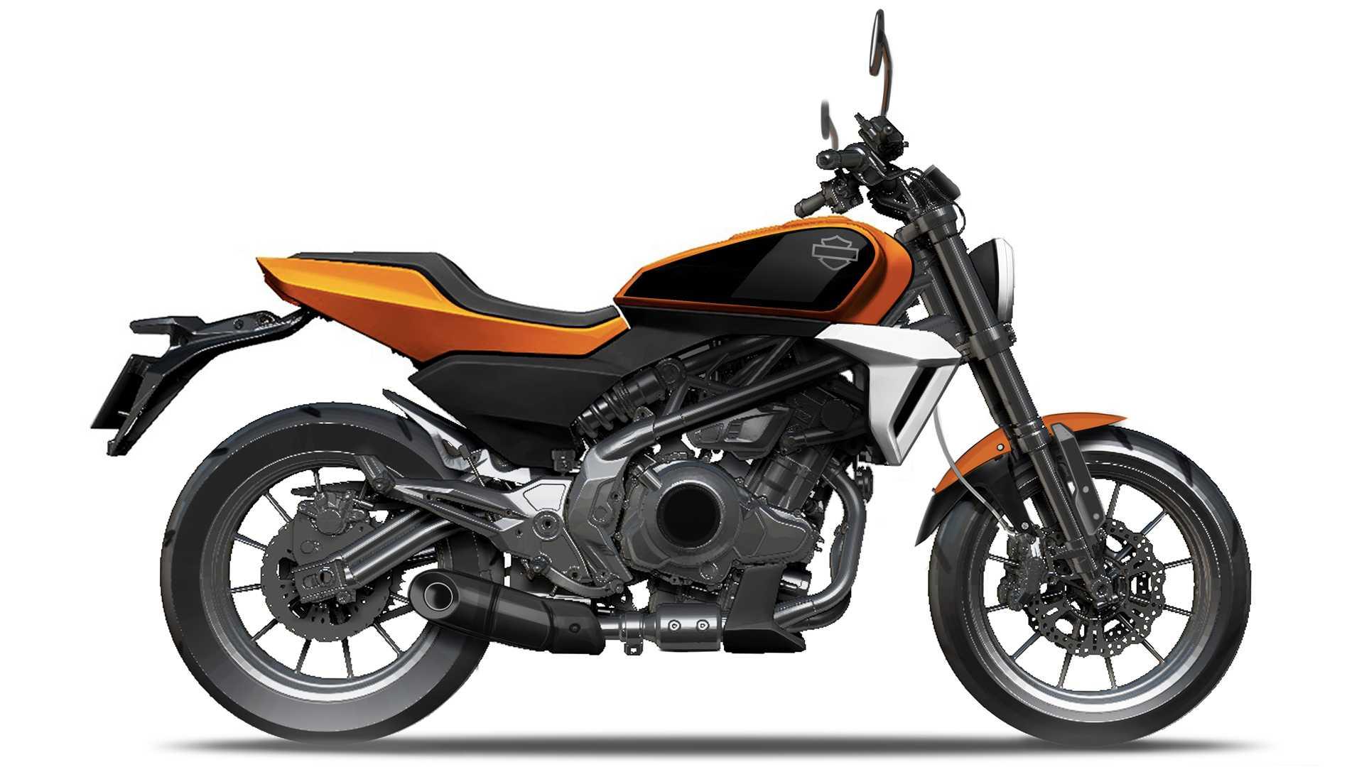 Harley-davidson and Quianjiang Motorcycle Company small displacement motorcycle