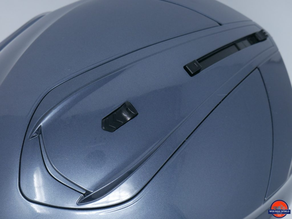 HJC IS-MAX II sun visor mechanism and top vent