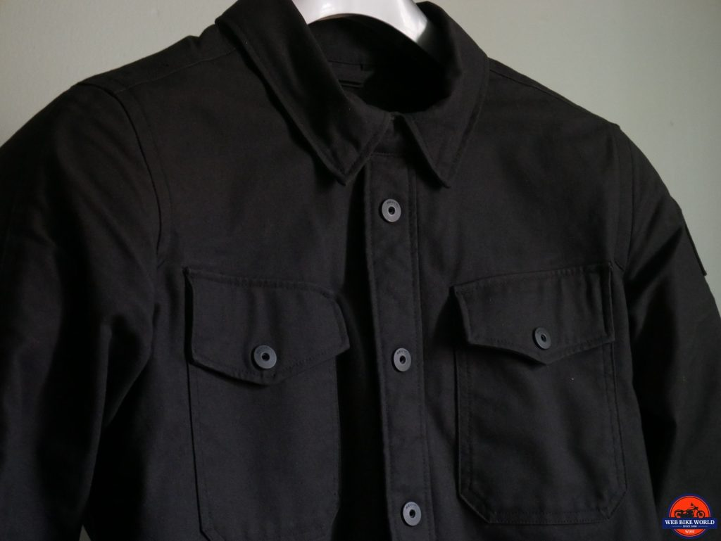 REV'IT! Worker Overshirt front detail