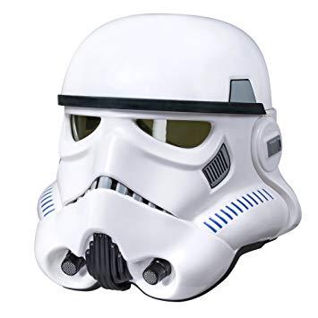 Star Wars stormtrooper helmet.