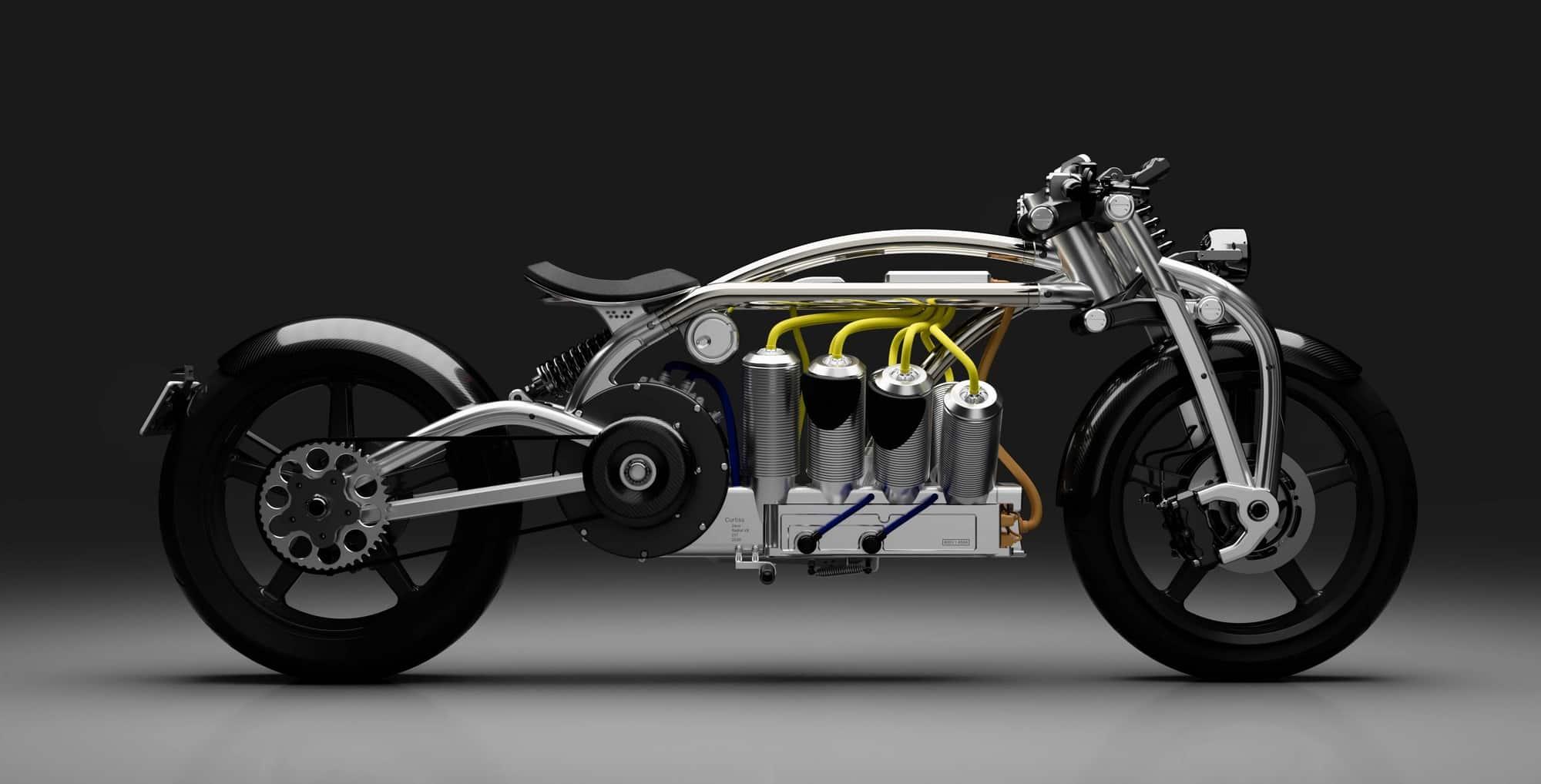 Curtiss Radial V8