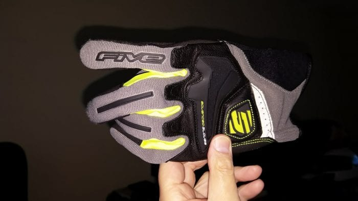 Five RS4, Fluorescent finger inserts and reflective back of hand panel