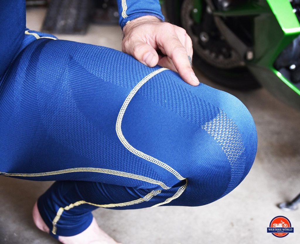 Forcefield Sport Suit X-V knee armour.