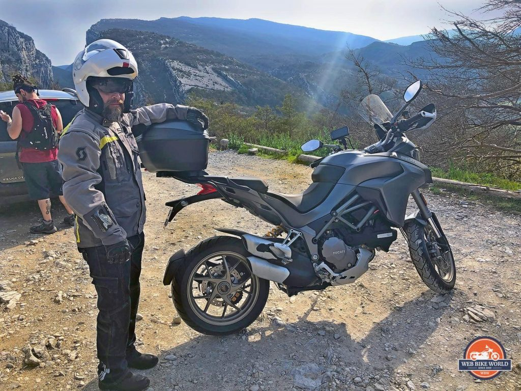 Me and a Ducati Multistrada 1260S.