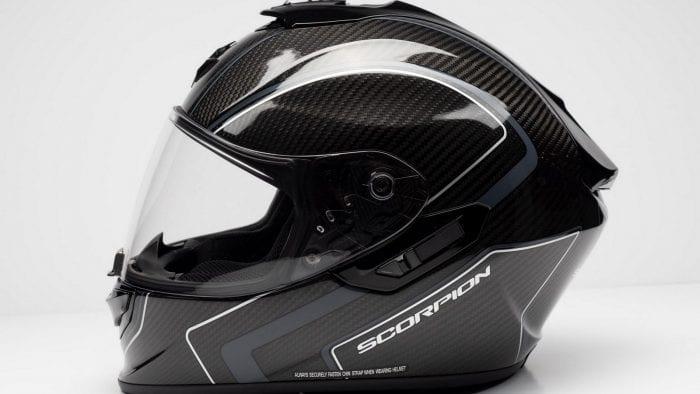 Scorpion EXO ST1400 helmet.