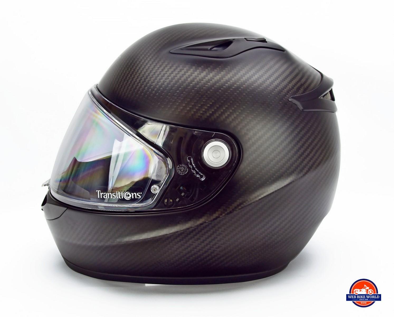 The Klim K1R helmet.