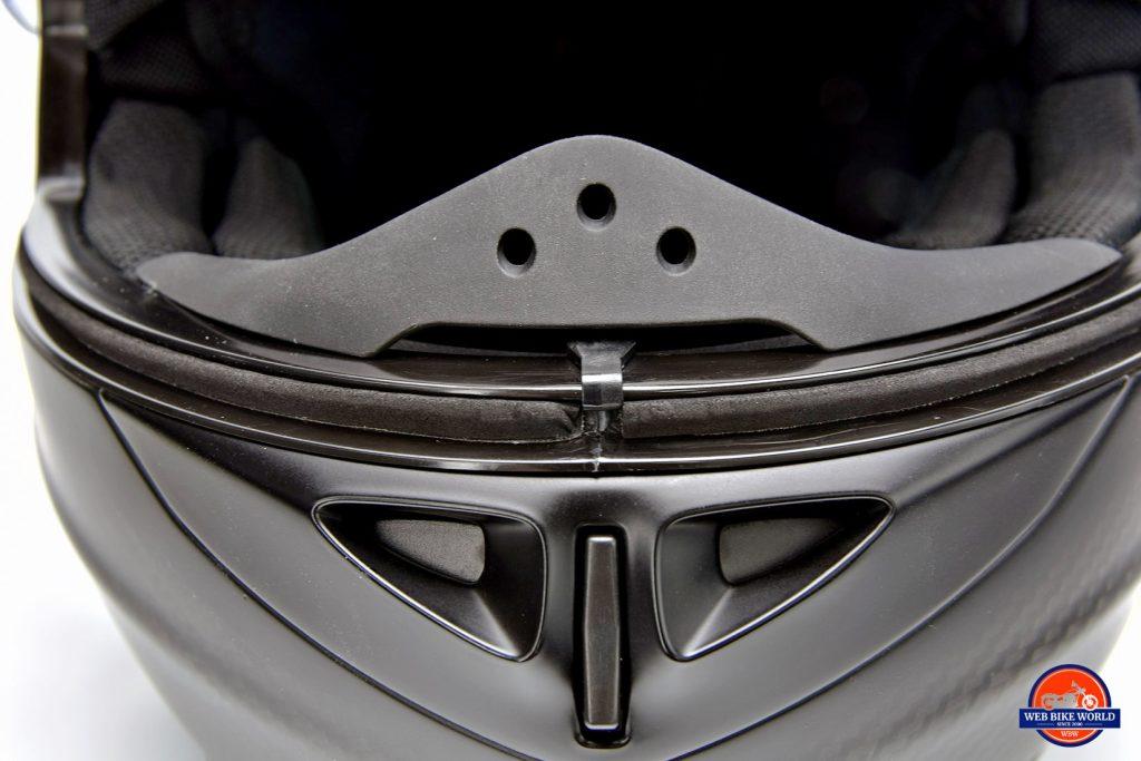 Klim K1R helmet breath guard.
