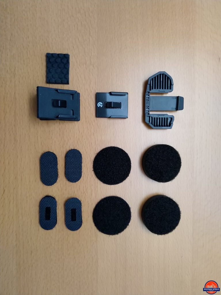 Motion Infinity, Layout, Module, speaker and microphone mounting pieces