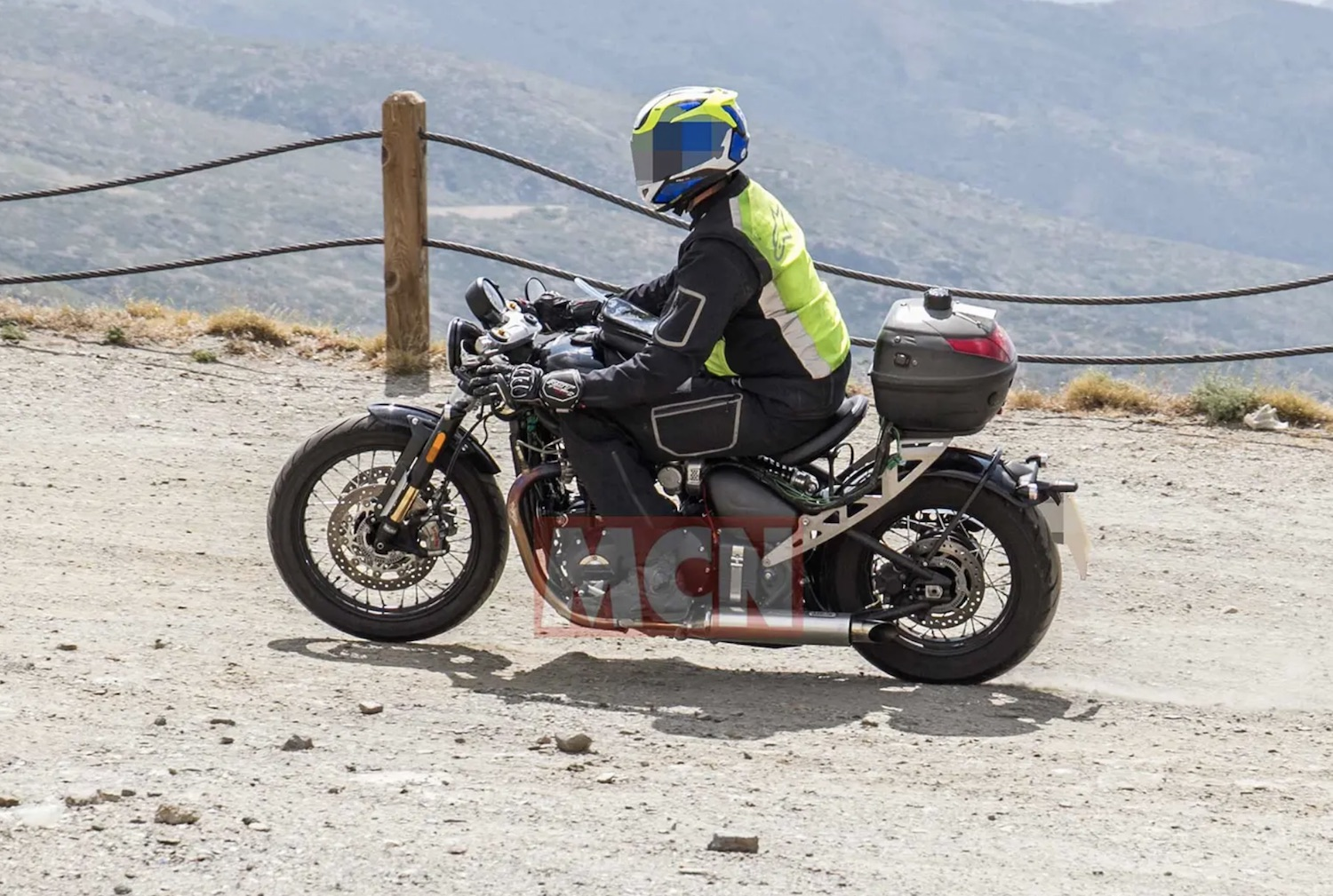 Here Are Some Spy Shots Of Triumph S Updated Bobber Webbikeworld