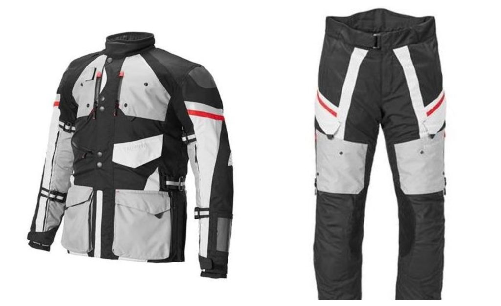 Triumph pants and jacket