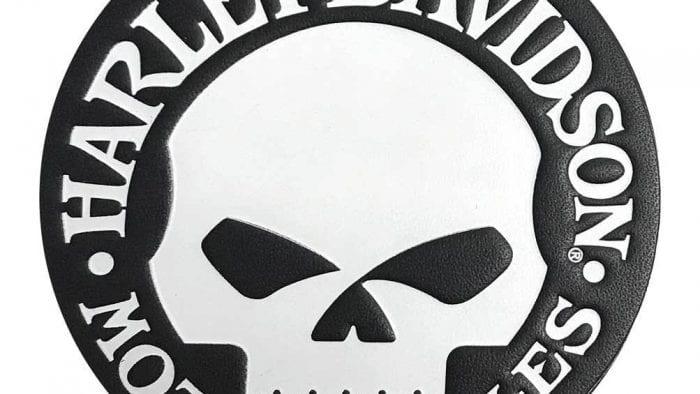 Harley Davidson WIllie G emblem.