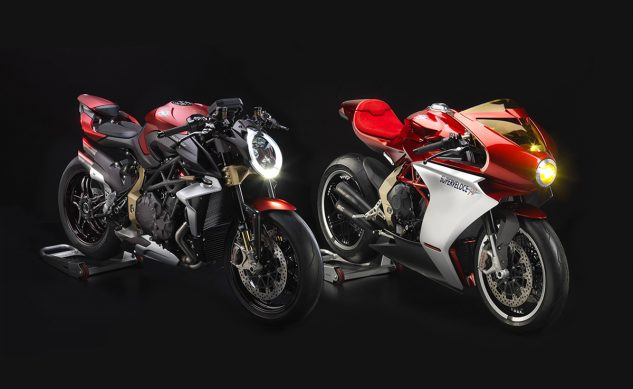 MV Agusta Brutale and Superveloce