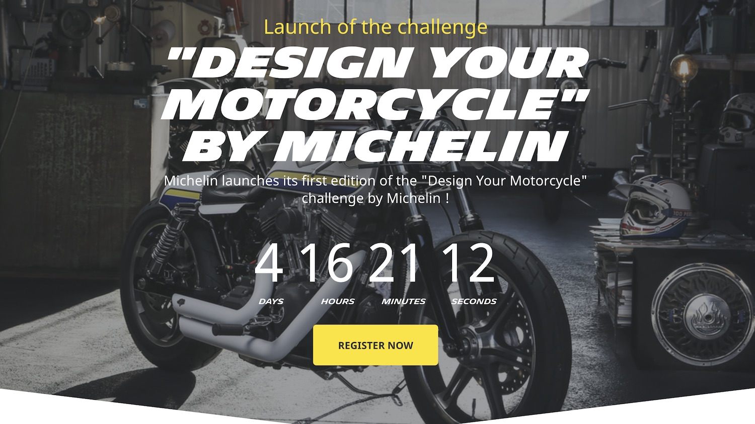 design your motorcycle michelin