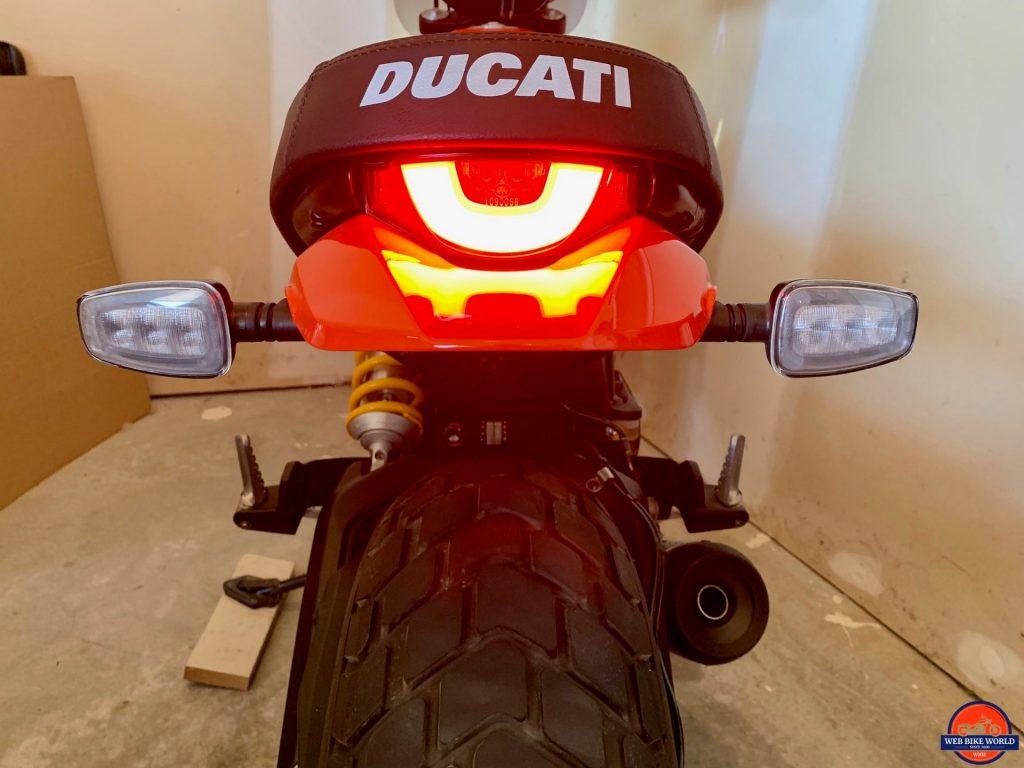 2019 Ducati Scrambler Icon rear LED light