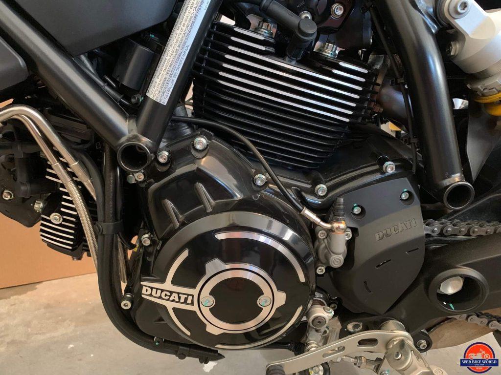 2019 Ducati Scrambler Icon 803cc Desmo L-twin engine