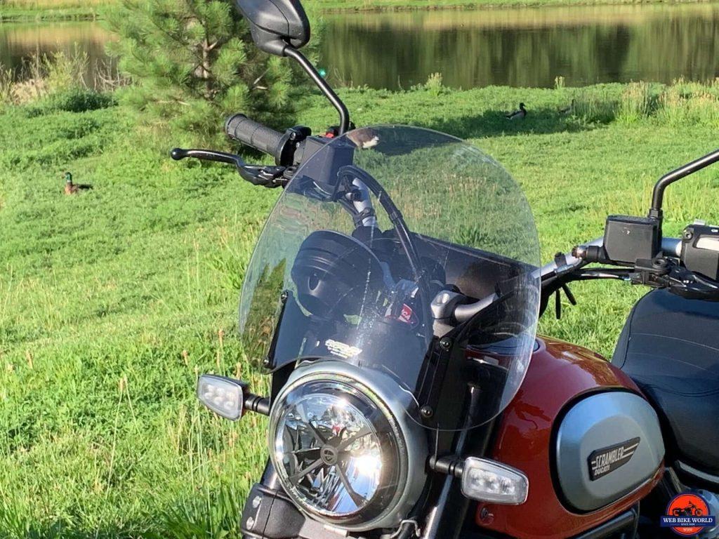 2019 Ducati Scrambler Icon windshield