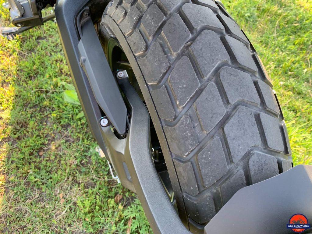 2019 Ducati Scrambler Icon rear tire