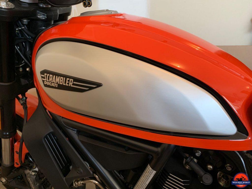 2019 Ducati Scrambler Icon fuel tank