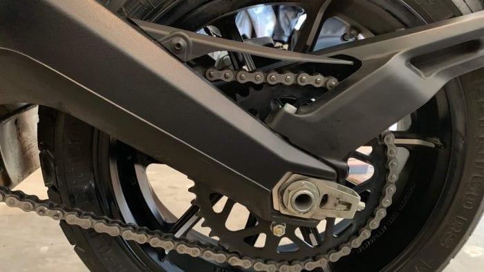 2019 Ducati Scrambler Icon tire & chain